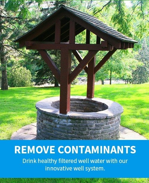 remove well water contaminants