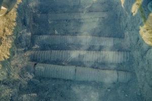 underground pipes